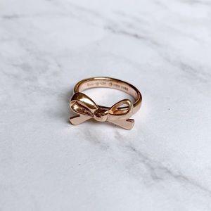 Kate Spade Rose Gold Bow Ring